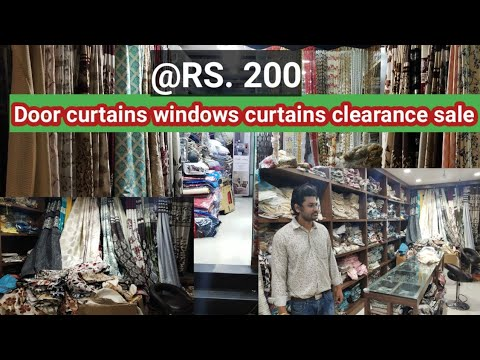Door&Window curtains Clearance sale/OnlyRS.200/door mats RS60/pillow covers bedsheets all home needs