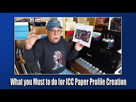 What you Must to do for ICC Paper Profile Creation