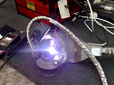 Welding Equipment: AMI 227 Orbital Welder for pipe and tube manufacturing