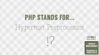 What is PHP? [#2] Code Dynamic Websites with PHP Mp3