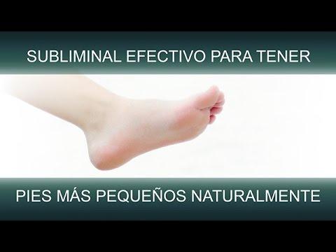 PIES MÁS PEQUEÑOS NATURALMENTE | SuperSubliminaL
