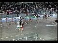 Six Nations Chiefs vs New Westminster Salmonbellies Lacrosse Bench Clearing Brawl Man Cup 1994