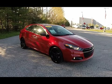 2014 dodge dart sxt rallye blacktop edition p10889 youtube. Black Bedroom Furniture Sets. Home Design Ideas