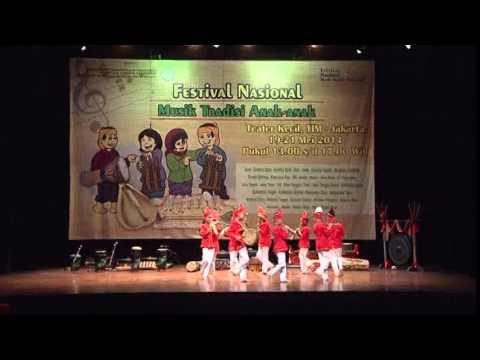 SULAWESI TENGGARA - Festival Nasional Musik Tradisi Anak-Anak 2014 by MAM EO
