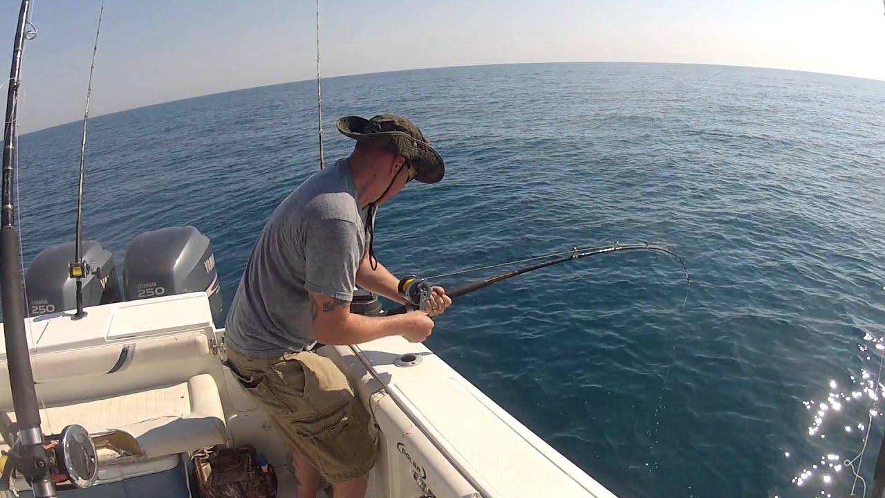 Jacksonville fishing charters amberjack fishing 5 10 for Deep sea fishing jacksonville fl