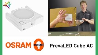 OSRAM PrevaLED CUBE AC [watt24-Video Nr. 148]