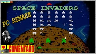 Space Invaders (2017) | PC Remake Gameplays