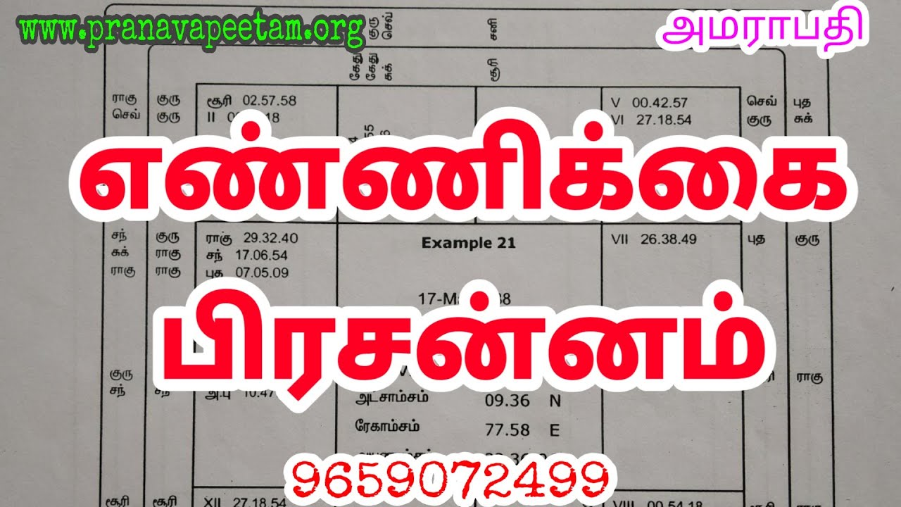 Astrology book in tamil pdf