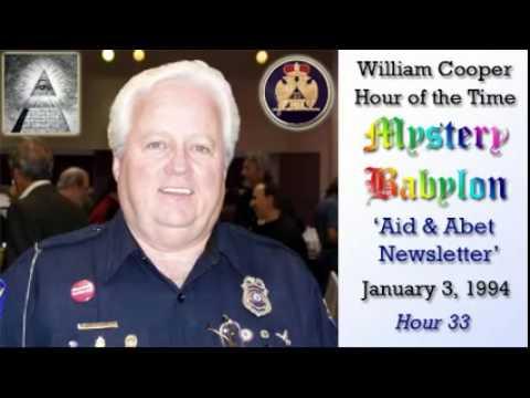 William Cooper - Mystery Babylon #33: Aid & Abet Newsletter Full Length