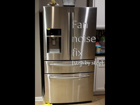 Samsung Refrigerator Fan Noise Fix (step By Step)