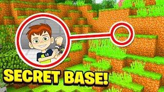 Minecraft : We FOUND BEN 10S SECRET BASE!  (Ps3/Xbox360/PS4/XboxOne/PE/MCPE)