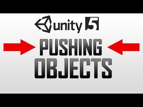 Pushing objects (Football / Basketball) in Unity 5 - YouTube
