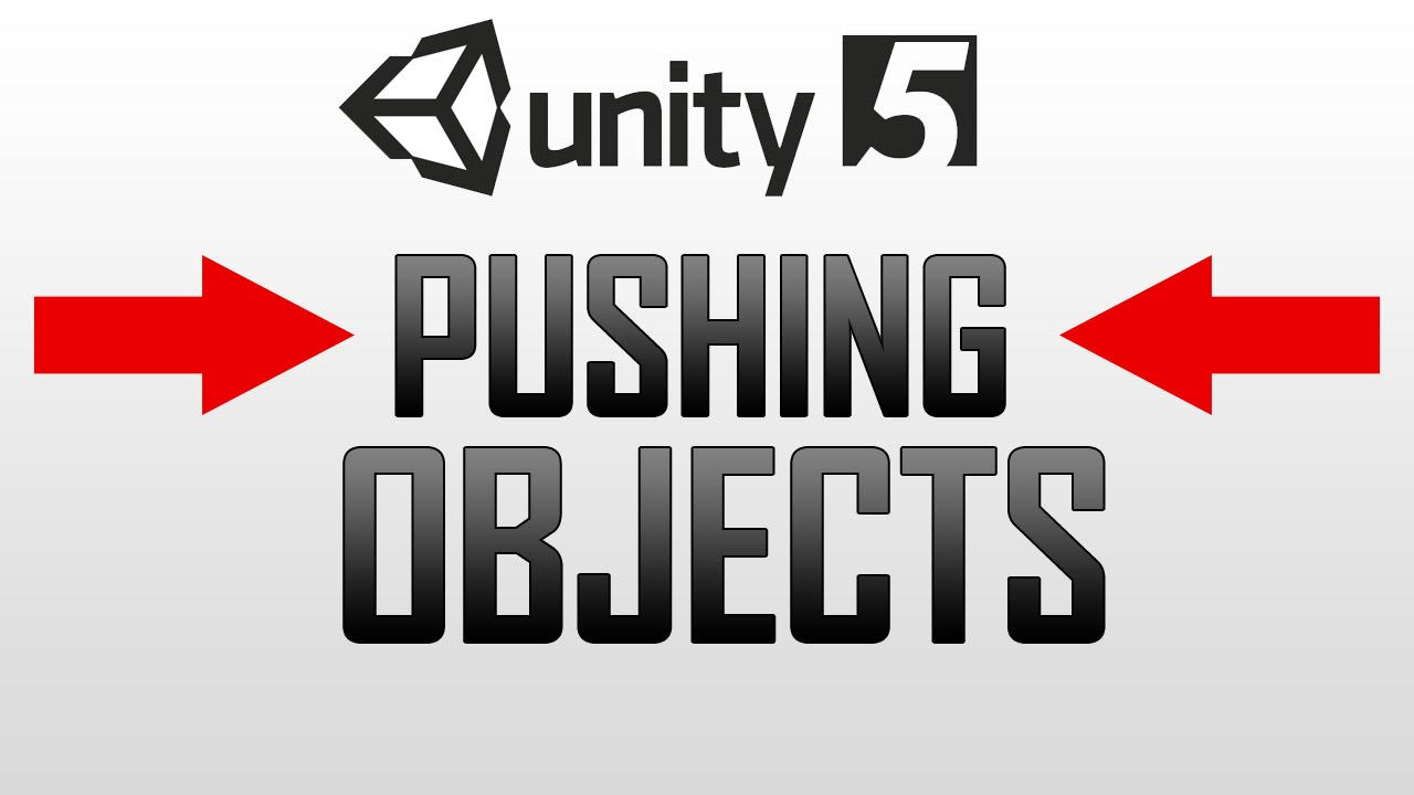 Pushing objects (Football / Basketball) in Unity 5