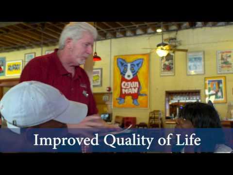 John Klotz, Mulates Cajun Restaurant: Local Jobs for Local People (Updated music)