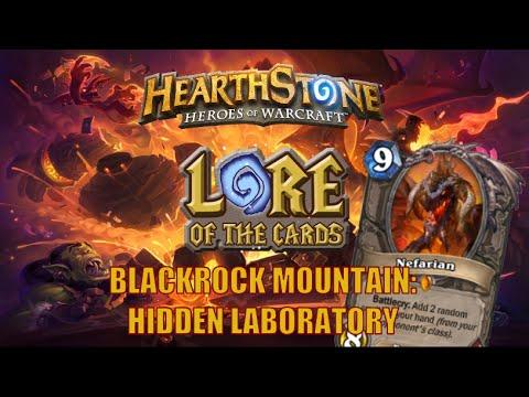 Hearthstone | Lore of the Cards | Blackrock Mountain: Hidden Laboratory