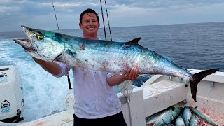 The Day of GIANTS... MONSTER Kingfish ( Commercial Fishing)