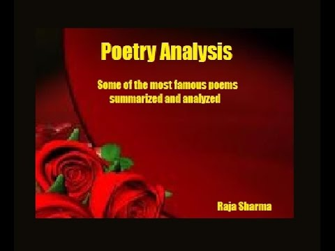 Please give a critical analysis of Tennyson's poem