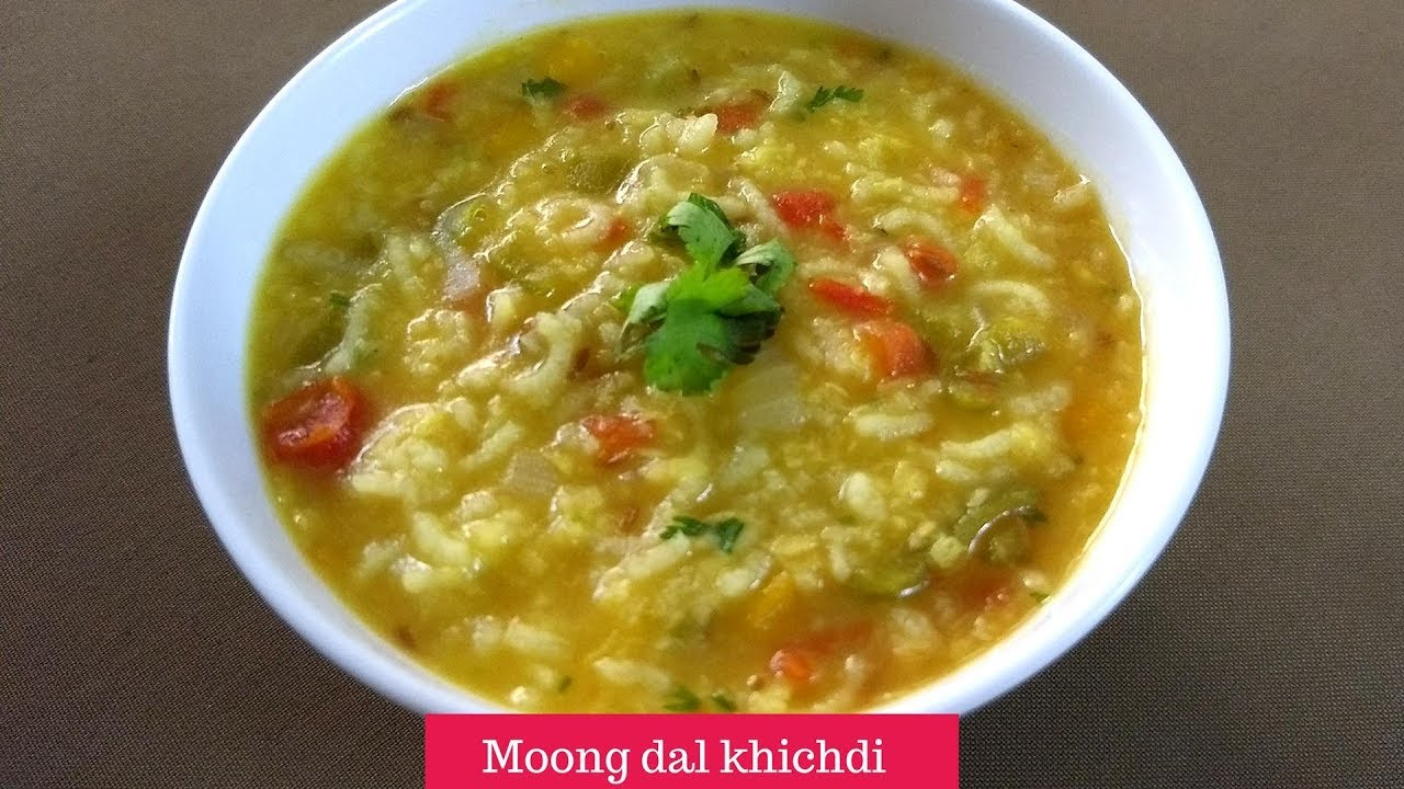 How to make moong dal khichdi with vegetables
