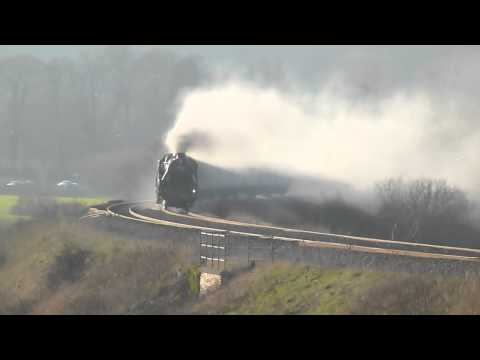"Black 5. ""44932"" Newton St Loe `The Bath & Bristol tour` 11-03-12."