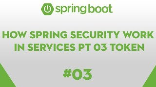 Spring Boot Essentials 03 - How Spring Security Works, coding JWT Token
