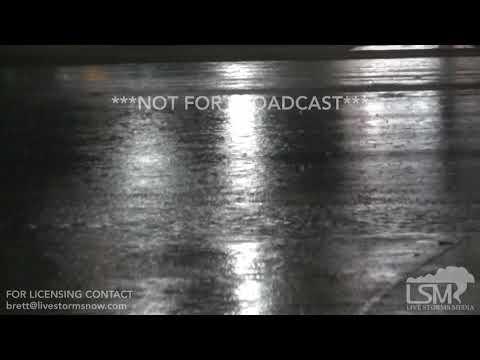2-20-19 Olive Branch, Mississippi Torrential Thunderstorm - Lightning - Blinding Rainfall