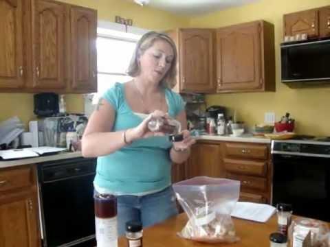 Tastefully Simple Freezer Meal Workshop demo - YouTube