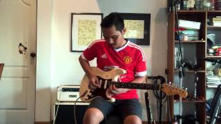 Glory Glory Manchester United Rock Guitar!!!