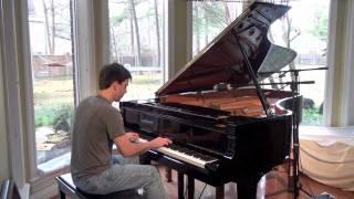 The Eagles - Hotel California on Grand Piano