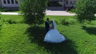 Квадрокоптер на свадьбе