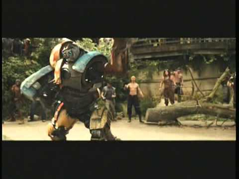 real steel movie Atom vs Metro