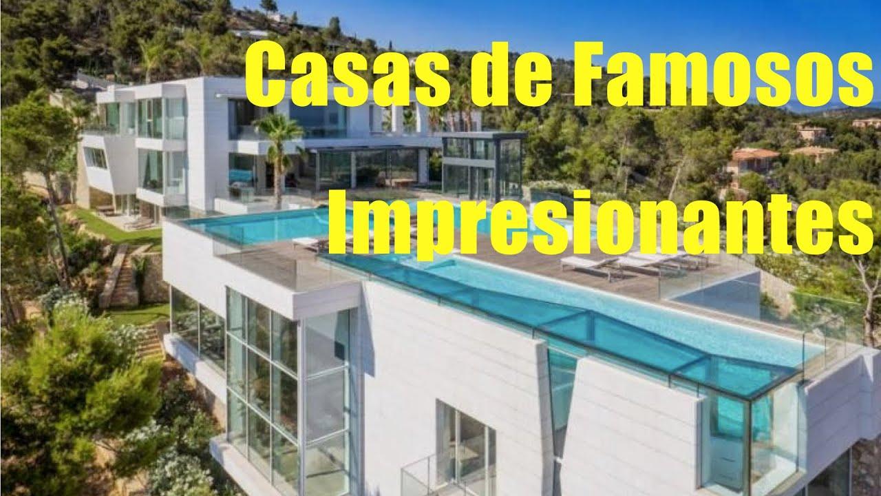 Casas y mansiones impresionantes de los famosos youtube for Casa de los azulejos por dentro
