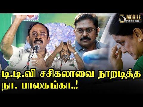 சசிகலா, தினகரனை நாறடித்த பாலகங்கா..! | N. Balaganga Latest Speech | AIADMK Public Meeting
