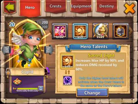 800K Might Hero Altar Review (3/4) The Heroes   Castle Clash