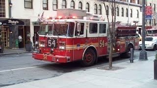 FDNY - Engine 54 - Compilation - 8/8/2014