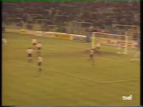 Gol de chilena. Fonseca (Valladolid 1-1 Athletic 91-92)