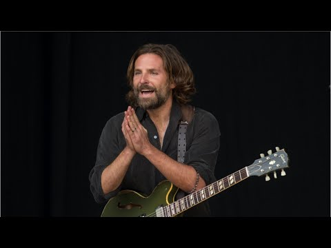 Bradley Cooper Crashes Kris Kristofferson's Glastonbury Set