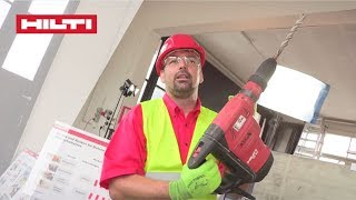 INTRODUCING the Hilti Health & Safety Training for Drilling & Demolition