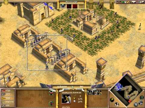 Age of Mythology Walkthrough Part 24-Tug of War
