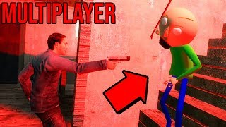 NIGHTMARE BALDI in Granny Horror Multiplayer! (Roleplay)