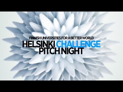 Helsinki Challenge Semifinal Pitch Nights 7.6.