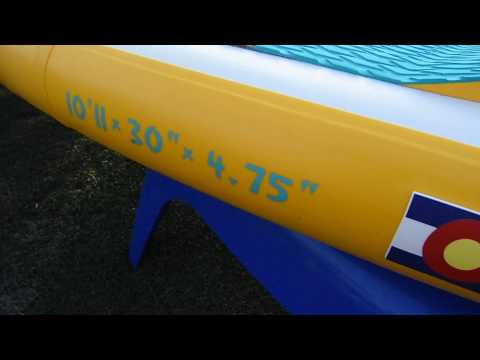SUP OBSESSED: Hala Inflatable Paddle Board Flex Test