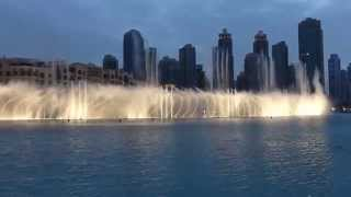 The Dubai Fountain 2015 New Bollywood Show | Burj Khalifa, March 18th (live in HD)