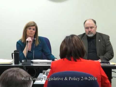 Wil County Legislative   Poliicy 2 9 2016