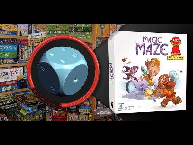 Magic Maze - Como Jogar