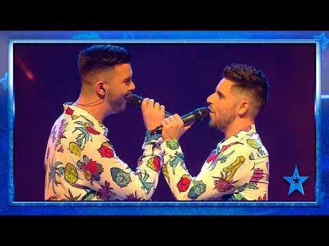 Adrián Y David Enamoran En El Escenario De 'Got Talent' | Semifinal 3 | Got Talent España 2019