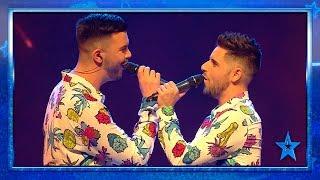 Adrián y David enamoran en el escenario de 'Got Talent' | Semifinal 3 | Got Talent España 2019