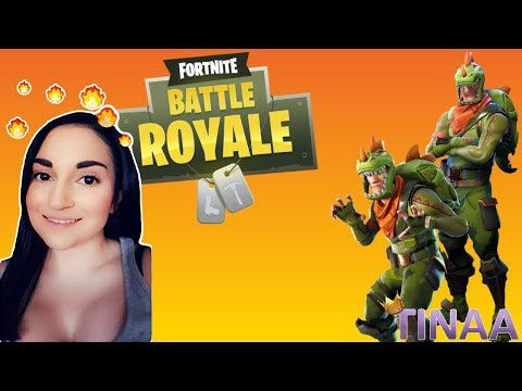 FORTNITE // I'M A DINY-SAUR =P | Tinaa Gaming | Live Stream