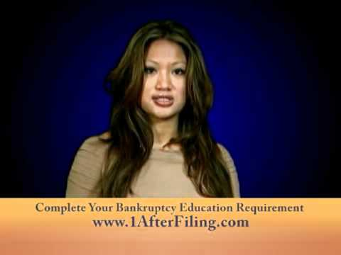 Post Bankruptcy Certificate