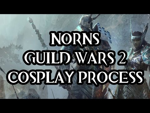 GUILD WARS 2: norn ❄️ COSPLAY {WIP}