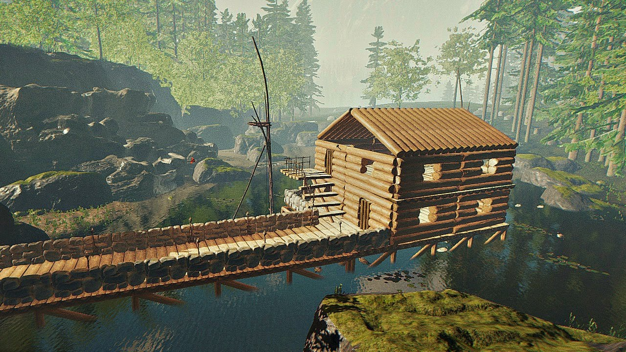 The Forest  Haus Im See  Let´s Play  Youtube